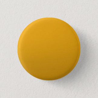 金ゴールドはテンプレートを消します: 文字、イメージ、盛り土色を加えて下さい 3.2CM 丸型バッジ