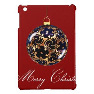 金ゴールドはメリークリスマスを分類しました iPad MINIケース