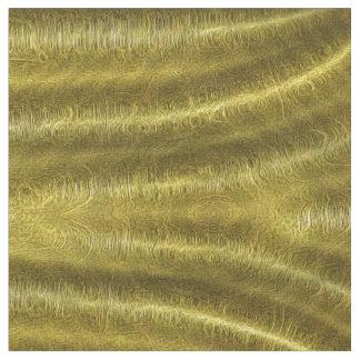 金ゴールドは生地をおおいます ファブリック