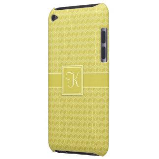 金ゴールドは3D立方体の滝のように落とを着色しました Case-Mate iPod TOUCH ケース