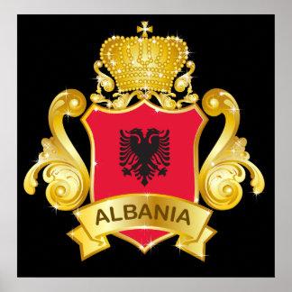 金ゴールドアルバニア ポスター