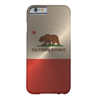 金ゴールドカリフォルニア共和国 BARELY THERE iPhone 6 ケース