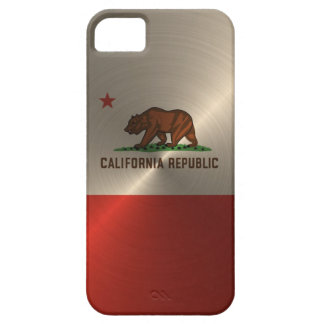 金ゴールドカリフォルニア共和国 iPhone SE/5/5s ケース