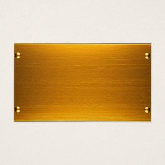 金ゴールドカード 名刺