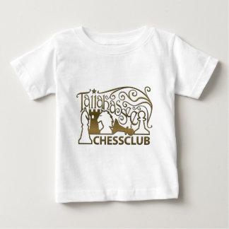 金ゴールドパターンワイシャツ ベビーTシャツ
