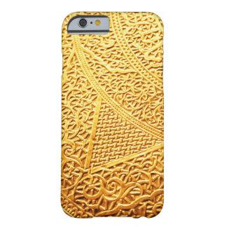 金ゴールドパターンiPhone6ケース Barely There iPhone 6 ケース