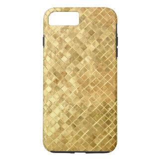 金ゴールドホイルのiPhone 7のプラスの場合 iPhone 8 Plus/7 Plusケース