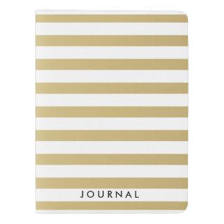 金ゴールドホイルは大きいノートカバーをカスタマイズ エクストララージMoleskineノートブック