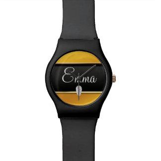 金ゴールド及びダイヤモンド 腕時計