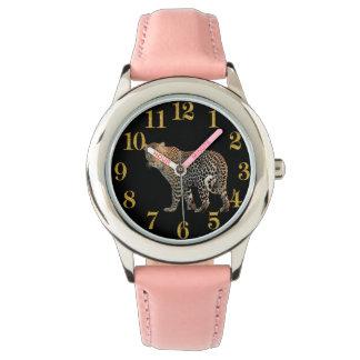 金ゴールド数を用いるチータの時間部分 腕時計
