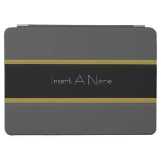 金ゴールド灰色黒くストライプのなiPadの空気及びiPad Air2カバー iPad Air カバー