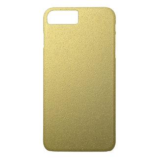 金ゴールド金属ホイルの効果 iPhone 8 PLUS/7 PLUSケース