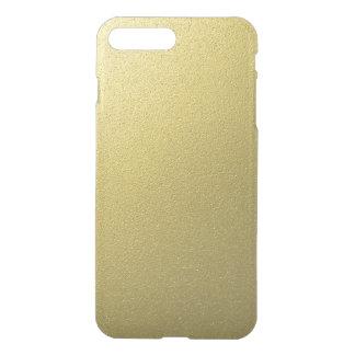 金ゴールド金属ホイルの効果 iPhone 8 PLUS/7 PLUS ケース