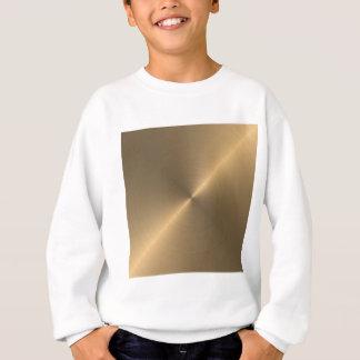 金ゴールド スウェットシャツ