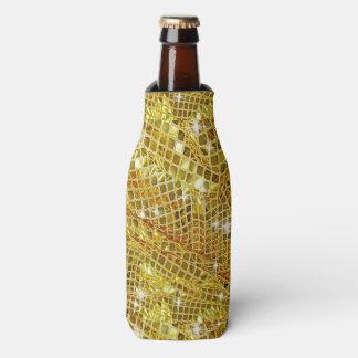金ゴールド、模造のなグリッター、ボトルのクーラー ボトルクーラー