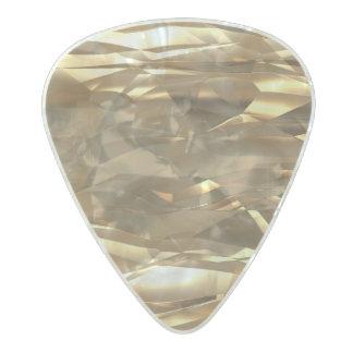 金ゴールド、金ゴールド、金ゴールド! -エレガントな金ゴールドパターン パールセルロイド ギターピック