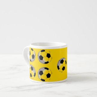 金サッカーのエスプレッソのマグ エスプレッソカップ