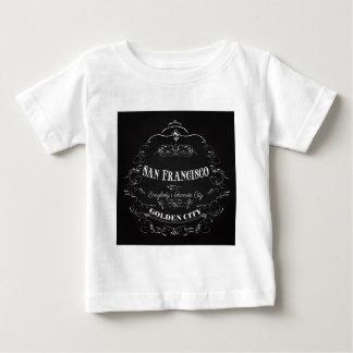 金サンフランシスコお気に入りのな都市皆 ベビーTシャツ