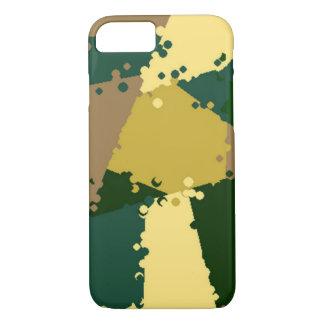 金ジャングルの迷彩柄 iPhone 7ケース