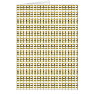 金ダイヤモンドパターン:  低価格のギフト グリーティングカード