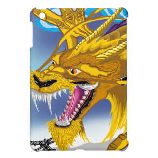 金ドラゴンのiPadの箱 iPad Mini カバー