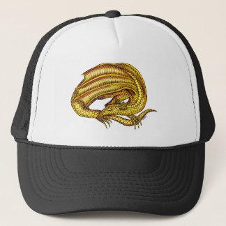 金ドラゴン キャップ