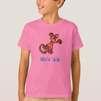 金ハワイのヤモリ Tシャツ