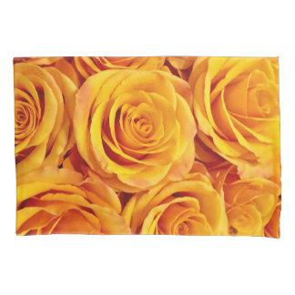 金バラ 枕カバー