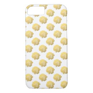金バラ iPhone 7ケース