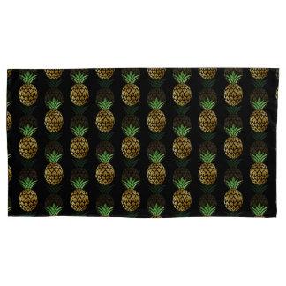 金パイナップル枕箱 枕カバー