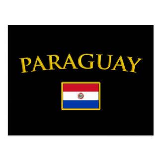 金パラグアイ ポストカード