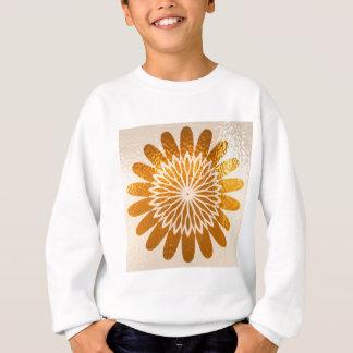 金ヒマワリの芸術の装飾 スウェットシャツ