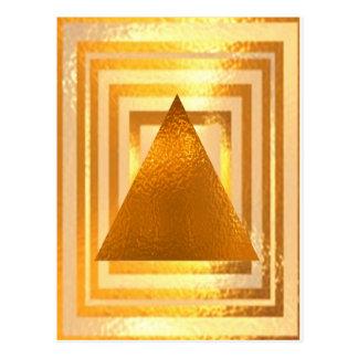 金ピラミッド ポストカード