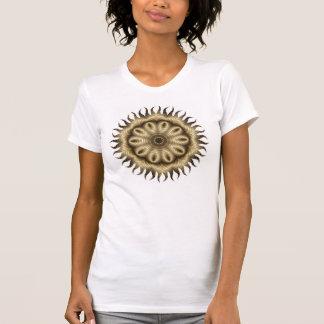 金ファンタジーの花 Tシャツ