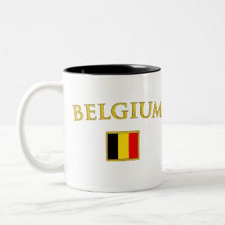 金ベルギー ツートーンマグカップ