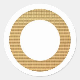 金ボーダーギフトの鑑定器 ラウンドシール