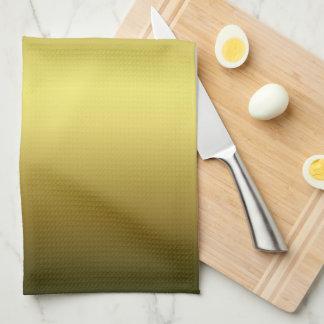 金モノグラムの台所タオル キッチンタオル