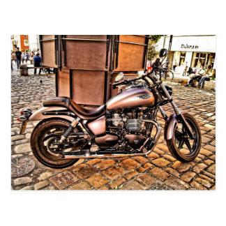 金モーターバイク ポストカード