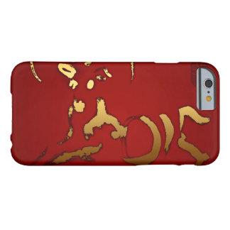 金ヤギ2015年-中国語およびベトナムの新年 BARELY THERE iPhone 6 ケース