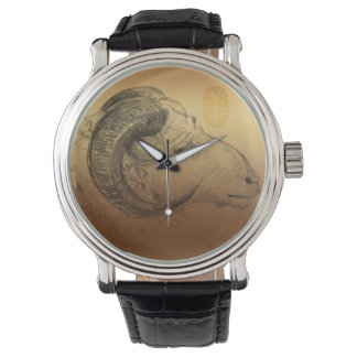 金ラムの中国人の占星術 腕時計