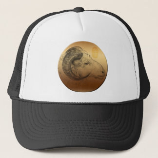 金中国のなラムの年または誕生日の帽子 キャップ