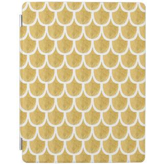 金人魚パターン芸術 iPadスマートカバー