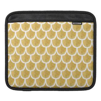 金人魚パターン芸術 iPadスリーブ