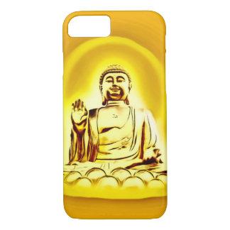 金仏のエアブラシの芸術のiPhone 7の箱 iPhone 8/7ケース