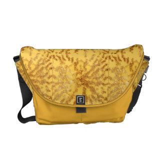 金光線のバッグ メッセンジャーバッグ