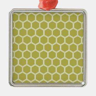 金六角形1 メタルオーナメント