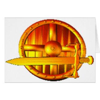 金剣及び盾 カード