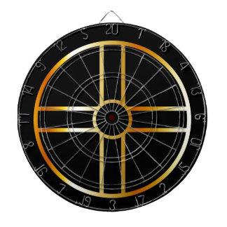 金南嵩拝の太陽のな十字の記号 ダーツボード