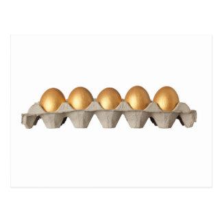 金卵の皿 ポストカード