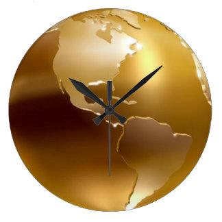 金地球の柱時計 ラージ壁時計